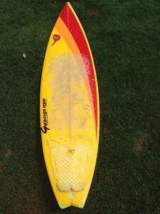 "6""2 surfboard  Gunther Rohn Buderim Maroochydore Area Preview"