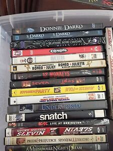 DVD collection - 65 of them!