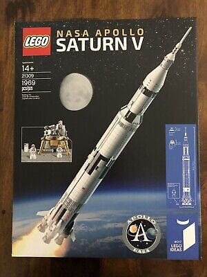 LEGO 21309 Apollo Saturn V Rocket Brand New Sealed Box