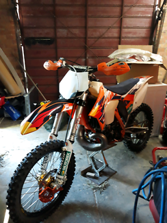 ktm sx 250cc (kit 300cc) 2012....swap for motard