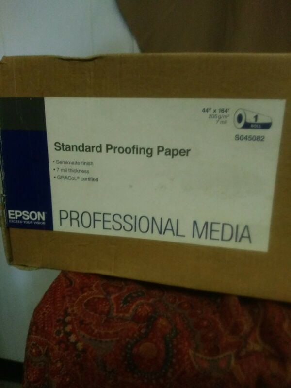 """Epson Standard Proofing Paper  S045082 44""""x164"""