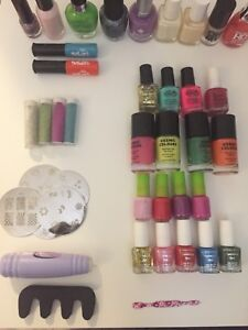 nail polish and accessories (selling for cheap)