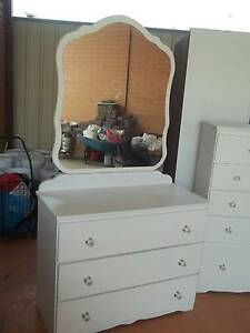 dresser, in white melamine Meadow Heights Hume Area Preview