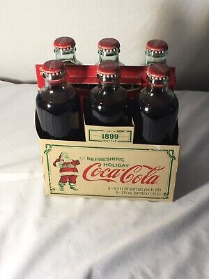 New Coca-Cola Circa 1899 Limited Edition 6 Pack Bottles&Box 9.3Oz.New Old Stock