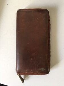 Men's Fossil Secure Wallet LEATHER