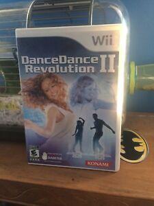 Dancedance revolution 2 wii