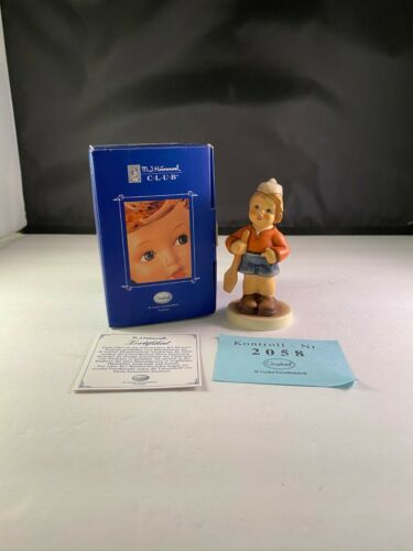 "M.I. HUMMEL 2148/B ""FIRST MATE"" CLUB MEMBERSHIP YEAR 2002/2003 GOEBEL GERMANY"