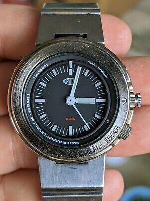Vintage 1999 Alba Orvitax Seiko Shrouded JDM 15501 V701 Watch, Orig. Band, Works