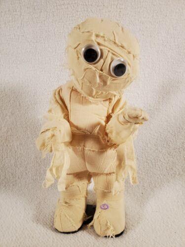 "Gemmy Vintage Animated 13"" Mummy Sings Dances Michael Jackson Thriller Works Boy"