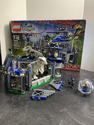 LEGO 75919 Jurassic World Indominus Rex Breakout Set, LIGHTLY Used, FULL SET