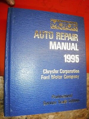 1992-95 MOTOR ELECTRICAL AUTO SERVICE MANUAL FORD CHRYSLER DODGE MERCURY LINCOLN