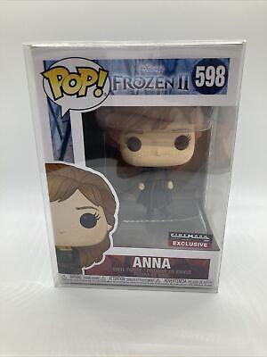Funko Pop Disney Frozen II 2 Traveling Anna 598 Cinemark Theatres Excl Protector