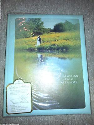 Hallmark Boda Álbum de Fotos Recortes Novia & Invitados & Libro Memoria...