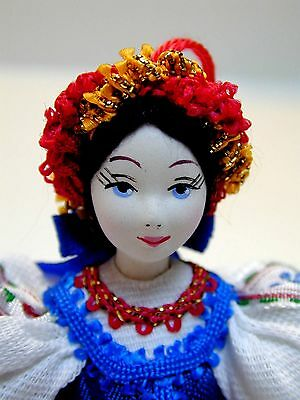 Used, Ukrainian 19th Century Folk Dress - Christmas Tree Art Doll for sale  North York