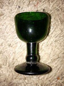 Antique eye wash glass Bristol Green