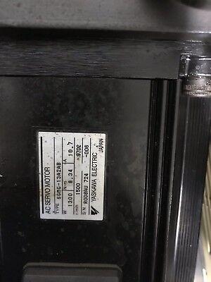 Cnc Bridegeport Tc3 Yasakawa Servo Motor Sgmg 13a2ab Torq Cut Cnc