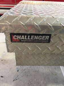 Checker plate tool boxes