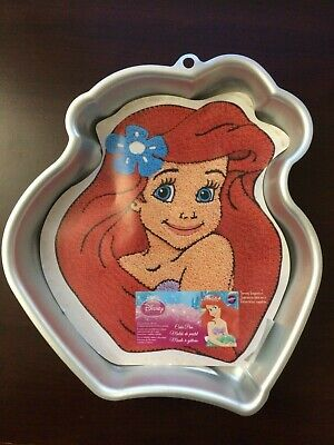 NEW Vintage Wilton Disney Princess Ariel Little Mermaid Movie Baking Cake Pan - Ariel Cake Pan