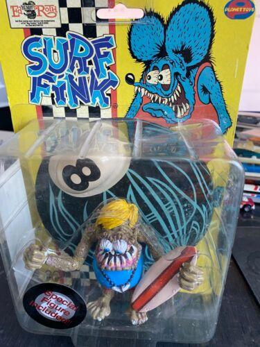 Rat Fink surf fink action figure unopened Ed Big Daddy Roth Planet Toys MOONEYES