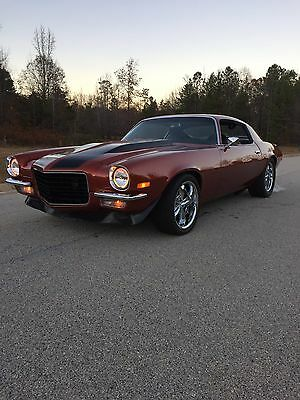 1973 ls swapped camaro z28 pro touring restomod ls1 split bumper rs used chevrolet camaro for. Black Bedroom Furniture Sets. Home Design Ideas