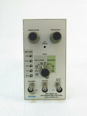 Tektronix 067-0680-00 - Calibration Fixture - Signal Normalizer Plug-in