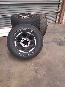 6 stud Advanti 4x4 rims Northbridge Perth City Area Preview