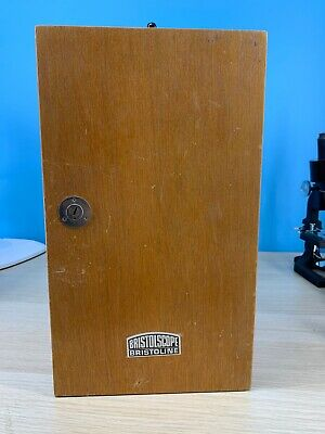 Bristoline Wooden Microscope Case With Key