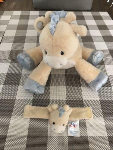 Baby Gund Giraffe Musical Stuffed  Animal With Rattle
