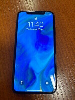 Apple iPhone X - 64GB - Space Grey (Unlocked) A1901 (GSM)