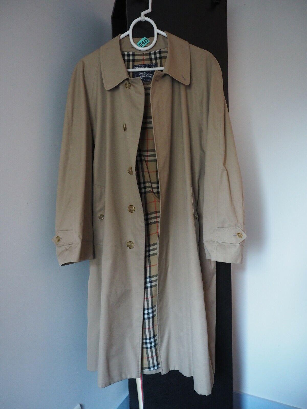 Burberry_trench-coat beige en gabardine_homme ttbe