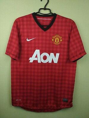 7a6d6b6a671 Manchester United jersey MEDIUM 2012 2013 soccer football Nike