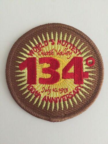 Death Valley Souvenir Patch  Worlds Hottest, 100th Anniversary