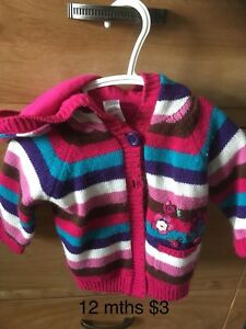 George sweater 12 mths lined