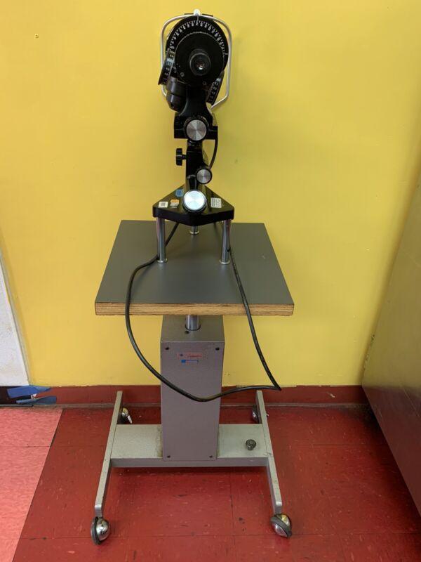 Bausch & Lomb Manual Keratometer 71-21-35 Opthalmometer Optometrist Tool Good!