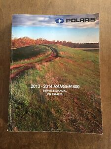 Vtt ,polaris service manual ranger 800