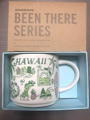 Starbucks HAWAII 14 Ounce Been There Collection (BTC) Mug. NWT