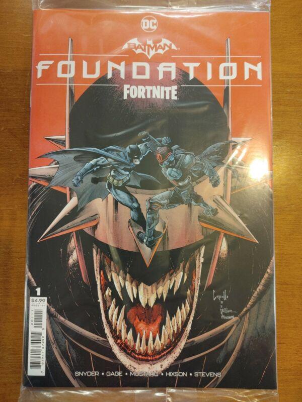 Batman Fortnite Foundation #1 One Shot (2021) Main Cover A Sealed Code DC Comics