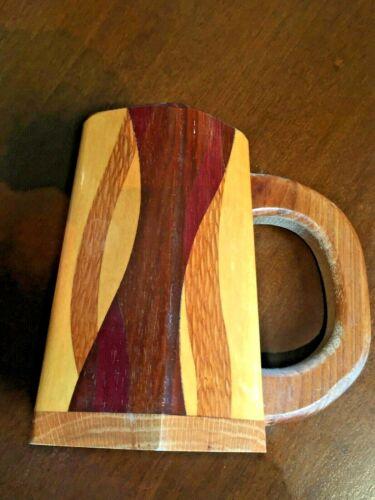 Handcrafted Wood Beer Mug, wood mug, beer stein, wood tankard, wood beer vessel