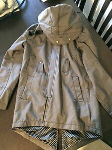 Cute women's rain jacket