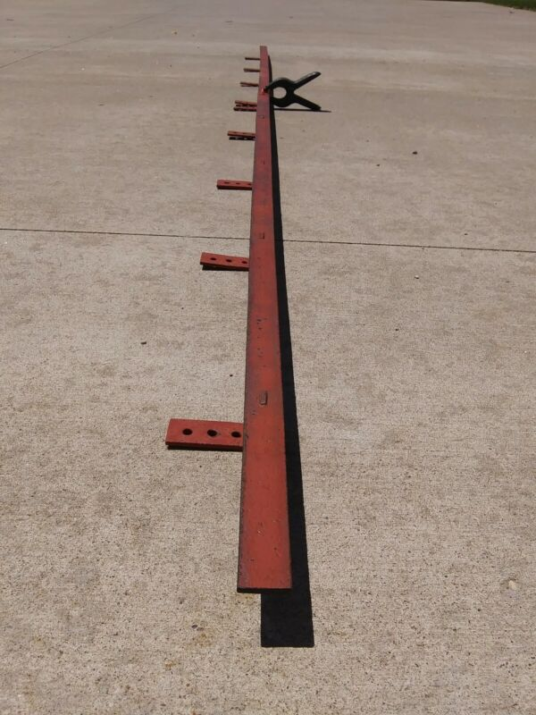 Antique Barn Door Track Rail 10 feet 2pcs of Myers Louden National REAL USA