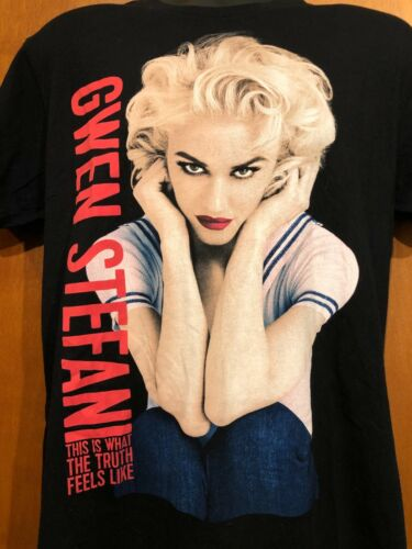 Gwen Stefani This Is What The Truth Feels Like Official 2016 Tour T-Shirt size L