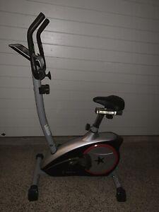 Celsius exercise bike- near new