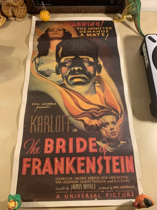 The Bride Of Frankenstein Australian Daybill