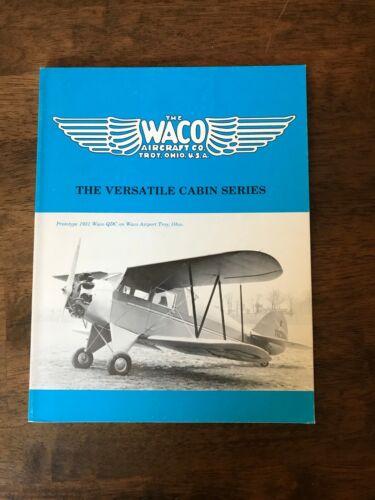 Waco The Versatile Cabin Series Aviation book.
