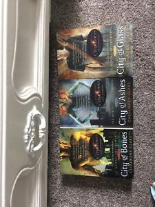 The mortal instruments book 1,2 and 3