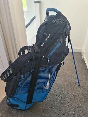 Nike Air Hybrid Stand Bag - 14 Way Divider - Blue