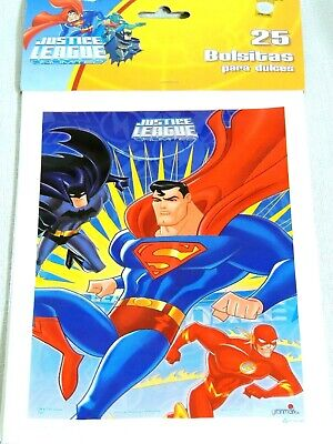 NEW JUSTICE LEAGUE   25 LOOT  BAGS--9