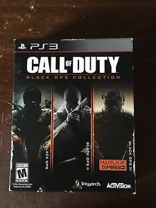 Call of duty black ops 1 2 and 3