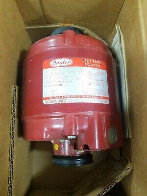 6k864 Dayton Split Phase New Red Boiler Pump