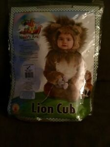 Baby Costume Lion Cub 0-6 month size